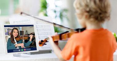 learn childrens string music online