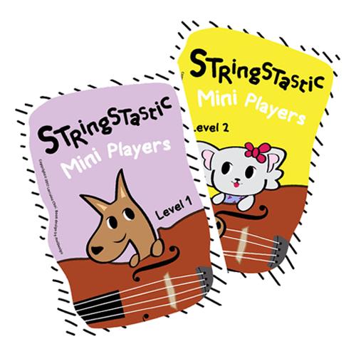 stringstatic mini players book series